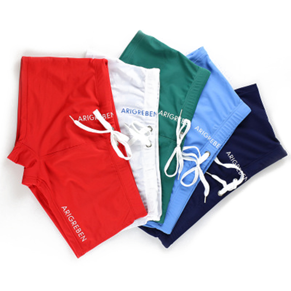 Men Swim Brief, Sexy Square Leg Athletic Swimming Trunks Breathable Board Surfing Shorts 6