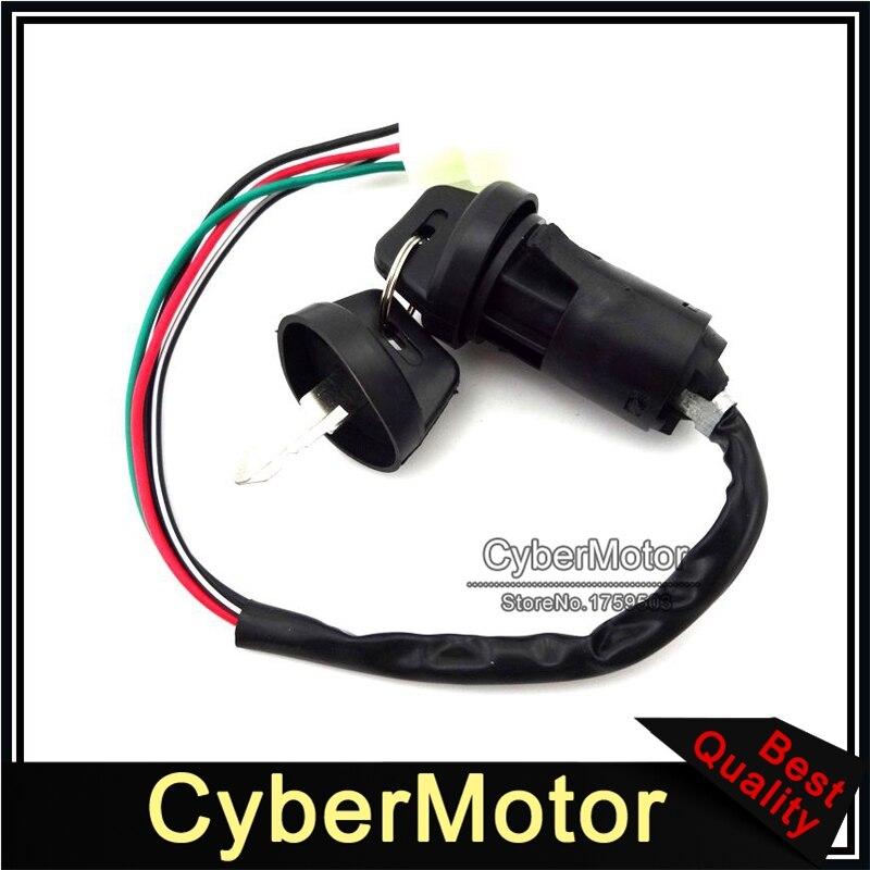 Ignition Key Switch For Eton Viper Sierra Impuls Rascal 50cc 70cc 90cc ATV Quad