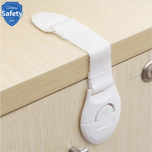 Plastic Lock Refrigerator Drawer-Cabinet Proofing Baby-Protection Security Safety Child