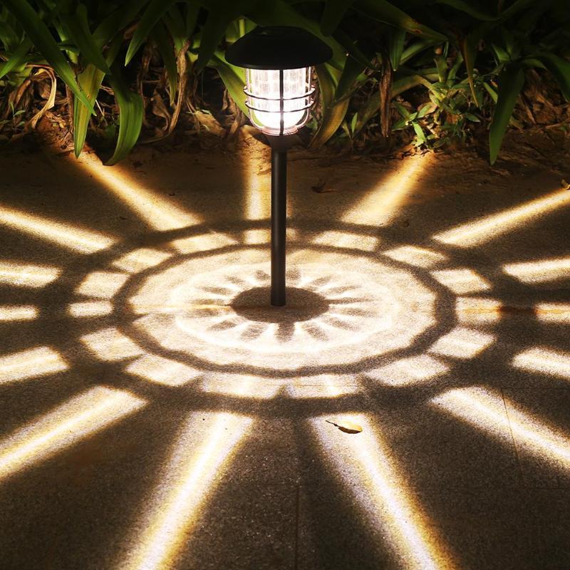 2pcs Solar Power LED Lawn Lamp Outdoor Garden Landscape Decorative Light|Solar Lamps| |  - title=