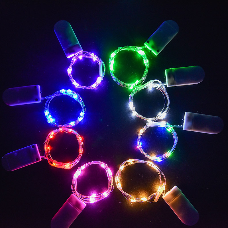 LED Waterproof Strip Light Colorful Light String Copper Wire Light Creative Decoration Lights Holiday Fairy Lights 5M 3M 2M 1M