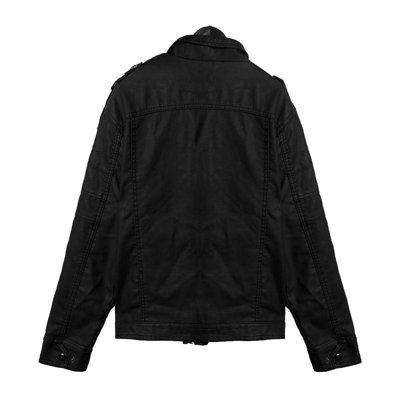 He505e6f5e309479ab0d2824e8985a0b67 Luxury 2019 Leather Jackets Men Autumn Fleece Zipper Chaqueta Cuero Hombre Pockets Moto Jaqueta Masculino Couro Slim Warm Coat