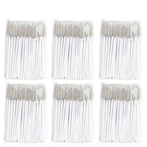 Image 5 - 1000Pcs/lot Disposable Micro Eyelash Brushes Mascara Wands Applicator Cosmetic Brushes Comb White Eyelash Extension Makeup Tool