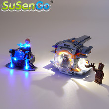 SuSenGo LED Light kit For 76102 Thor's Weapon Quest Lighting Set Compatible with 07105 10835 NO Model