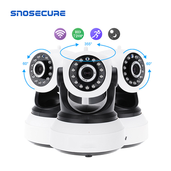 SNOSECURE Wireless Security IP Camera WIFI Home Surveillance 720P Night Vision CCTV Camera IP Onvif P2P Baby Monitor Indoor Cam daytech 720p hd wireless wifi ip camera home security surveillance camera ir night vision cctv indoor camera wi fi baby monitor
