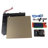 Placa base Einsy rebo 1.1A + 2004 pantalla LCD MK52 placa magnética de acero PEI para impresora Prusa I3 MK3 3D