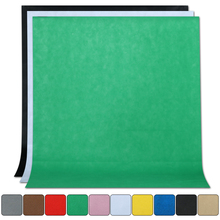 1.6 متر x 2 متر/3 متر/4 متر التصوير استوديو الصور خلفية بسيطة خلفية غير المنسوجة بلون شاشة خضراء Chromakey 10 لون القماش