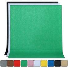 1.6M x 2M/3M/4M fotoğraf fotoğraf stüdyosu basit arka plan zemin dokuma olmayan düz renk yeşil ekran Chromakey 10 renk kumaş