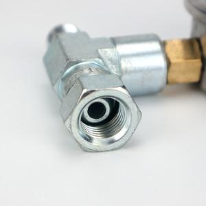 Image 4 - 1PC High Pressure Airless Sprayer Pressure Gauge Tee Pipe Coupling Barometer Paint Spraying Machine Pressure Display Universal