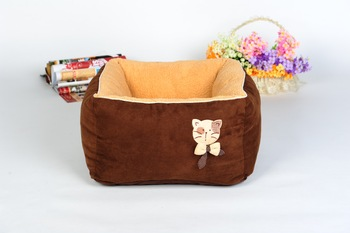 Warm Round Dog Bed Comfortable Kennel Dog House Soft Puppy Cushion Mat Pet Bed For Dog And Cat Pet Products 2019 New II50GW