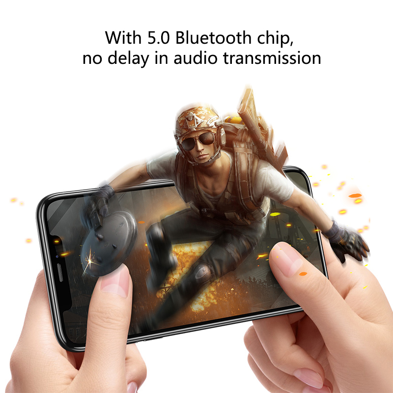 Bluetooth Earphones True Wireless Headphones 5.0 TWS in-Ear Earbuds IPX5 Waterproof Mini Headset 3D Stereo Sound Sport Earpiece (6)