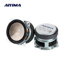 AIYIMA 2 шт. 2-дюймовый аудио полный диапазон водонепроницаемый динамик s драйвер 8 Ом 25 Вт Звук музыка мини-динамик PP металлический бассейн дома...