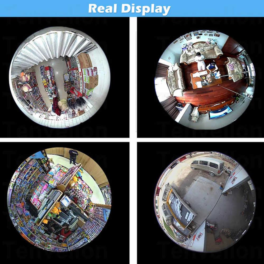 INQMEGA 960P واي فاي كاميرا IP 360 إضاءة أمان بانورامية لمبة CCTV مراقبة فيديو فيش HD للرؤية الليلية ضوء الممر كاميرا