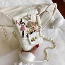 Sacs de luxe carrés sac à bandoulière 2020 nouveau haute qualité en cuir PU femmes sac à main design voyage épaule sac de messager