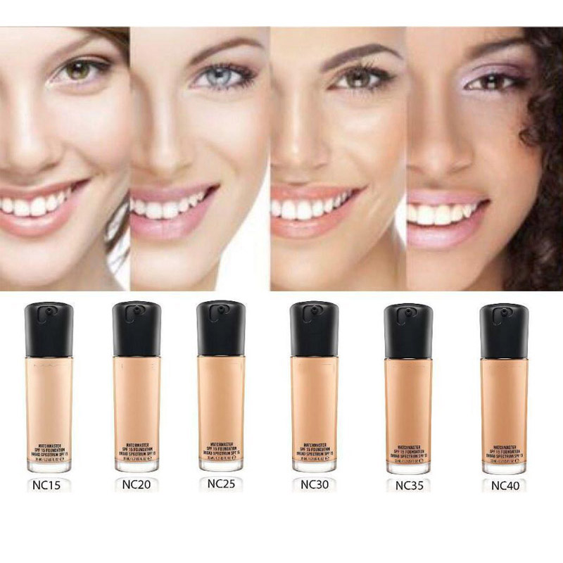 Makeup Face Match Master Foundation SPF 15 Natural Long-Lasting Moisturizer Hydrating Concealer Foundation
