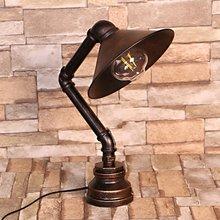 220V Vintage Industrial tubo lámparas de escritorio lámparas de mesa para dormitorio noche libro de lectura estudio decoración del hogar regalo