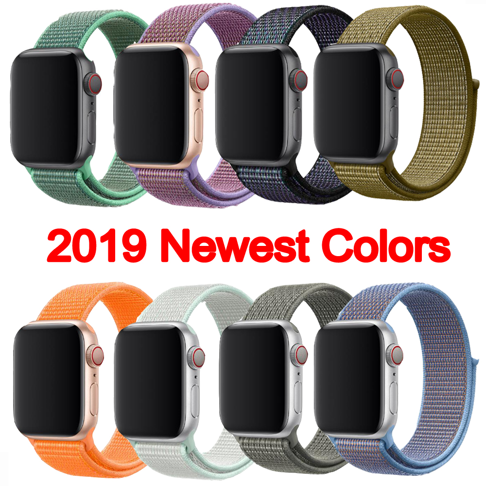 38mm <font><b>42mm</b></font> 40mm <font><b>42mm</b></font> 44mm for <font><b>Apple</b></font> <font><b>Watch</b></font> Band 1 <font><b>2</b></font> 3 4 series strap for iWatch 4 For <font><b>apple</b></font> <font><b>watch</b></font> bracelet <font><b>pulseira</b></font> 20mm image