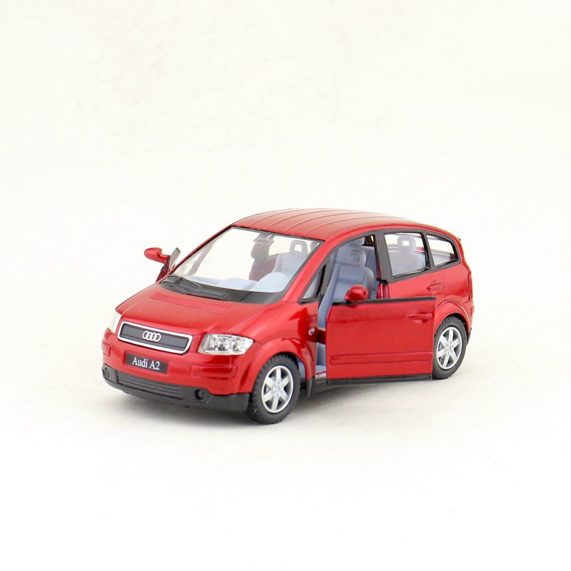 KINSMART DieCast Metal Model/1:30 Scale/Audi A2 SUV Sport/Pull Back Toy Car/Gift For Children/Educational Collection