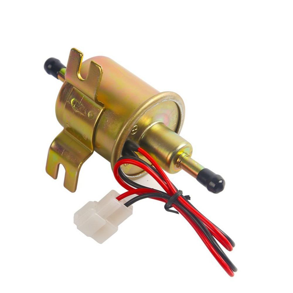 Automotive Universal Conversion Accessories HEP-02A Gas Diesel fuel pump Inline Low Pressure Electric Fuel Pump 12V title=