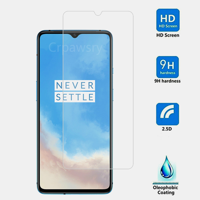 3PCS Tempered Glass For Oneplus 7 7T 6T 5T 6 5 3T 1+7 1+6 One Plus 7 Oneplus7 6 T 7T Screen Protector Toughened Glass Cover Film