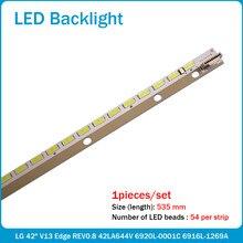 (Novo kit )2 Pçs/set 535 MILÍMETROS 42 V13 6920L-0001C tira retroiluminação LED para 6922L-0062A 6916L1166A LC420EUN SF F3 6916L1472A