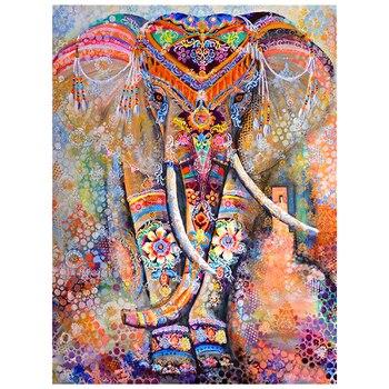 Broderie Diamant Éléphant