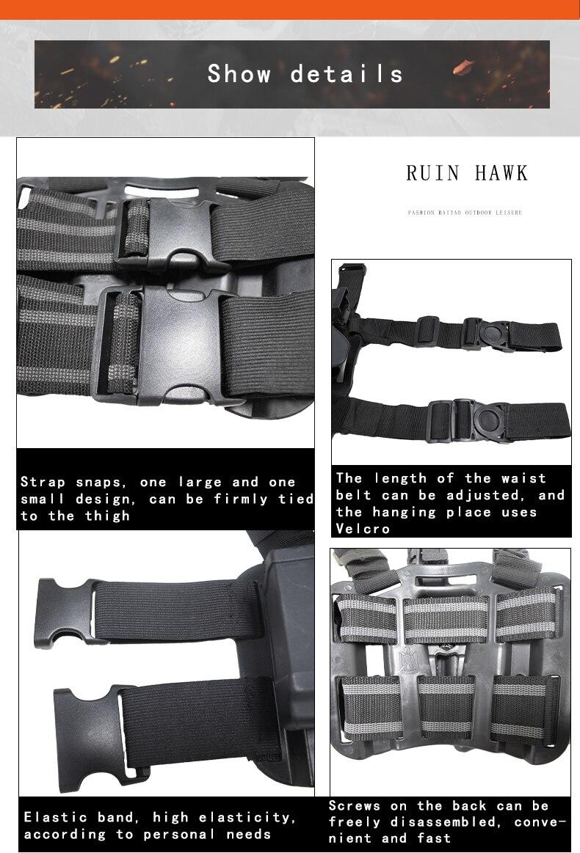 equipamentos colt 1911 pistola arma coldre sem lâmpada caça acessórios