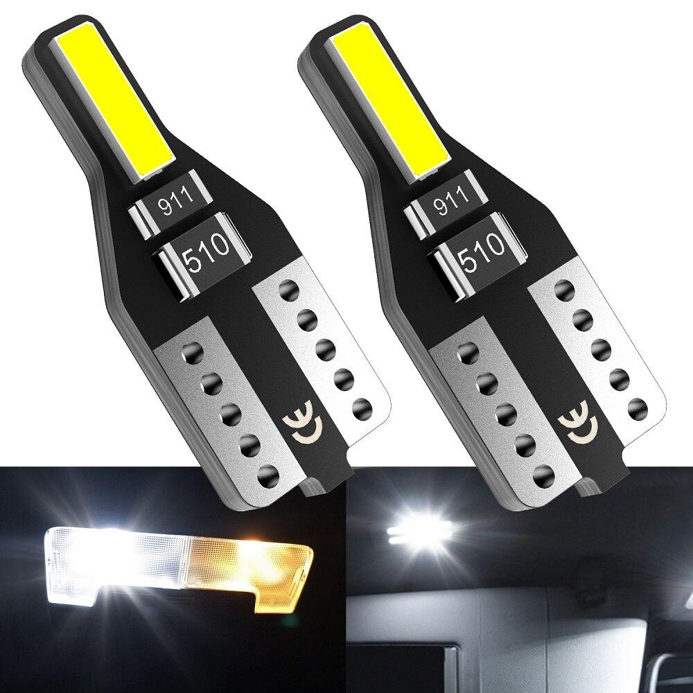 2pcs W5W LED T10 LED Car Interior Bulb Lights For Opel Astra H J G Corsa D C Insignia Vectra B Zafira Mokka Meriva Leds For Auto