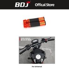 BDJ Motorcycle Grip Hand Pedal Biker Scooter Handlebar Grips Modified Handlebar Throttle Turn Settle все цены