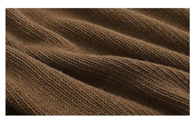 [EAM] Big Size Oversize Knitting Sweater Loose Fit V-Neck Long Batwing Sleeve Women New Fashion Tide Autumn Winter 2019 1B621 36