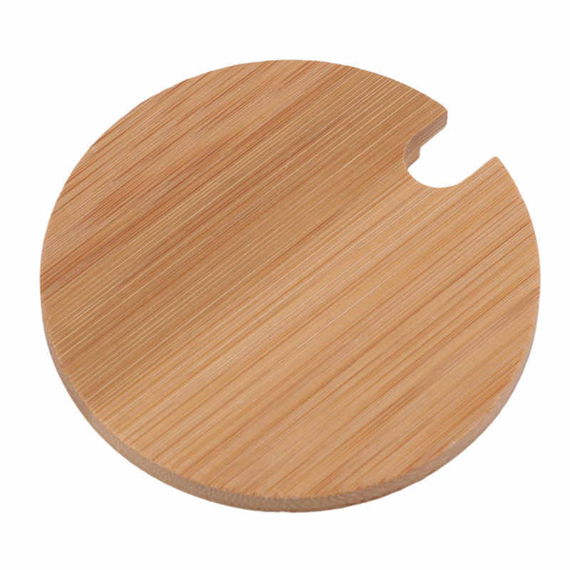 Mode Bamboe Cup Mokken Deksel Verschillende Maten Jar Ooden Deksel Cup Mok Covers Bamboe Koffiekopje Cover Voor Koffie Mokken keramische