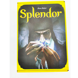 Splendor Board Game Carton Investment Financing Family Parent-child Interaction Cards Game For Home Party
