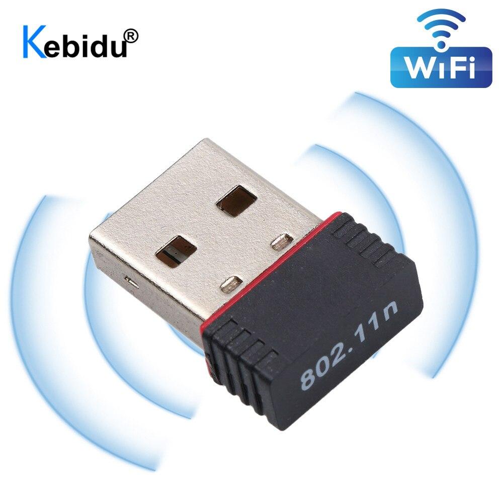 kebidu Mini 150Mbps USB WiFi Wireless Adapter 150M Network LAN Card 802.11 ngb Chip REALTEK(China)