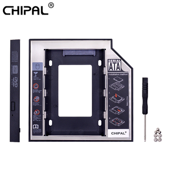 CHIPAL 2nd HDD Caddy 12 7mm 9 5mm SATA 3 0 2 5 #8221 HD obudowa płyty dysku twardego obudowa na SSD Box na laptopa CD-ROM DVD-ROM wnęka na napęd optyczny tanie i dobre opinie CN (pochodzenie) 2 5 Aluminium Ue wtyczka Us wtyczka Au plug Wtyczka uk Caddy 9 5MM Esata Mini SATA Plastic + Aluminum
