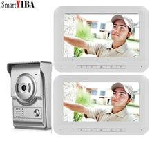 SmartYIBA Video halka kapı zili kamera görsel interkom gece görüş iki yönlü interkom görüntülü kapı telefonu görüntülü kapı giriş telefonu çağrı