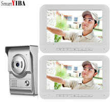 SmartYIBA timbre de vídeo para puerta, cámara, intercomunicador Visual, visión nocturna, intercomunicador bidireccional, vídeo, teléfono, videoportero, llamada telefónica