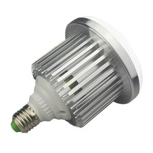 Image 3 - 95W 100 245V E27 ampul fotoğraf LED Video işığı sıcak lamba bi renk 3200K 5500K + uzaktan kumanda stüdyo Softbox Video