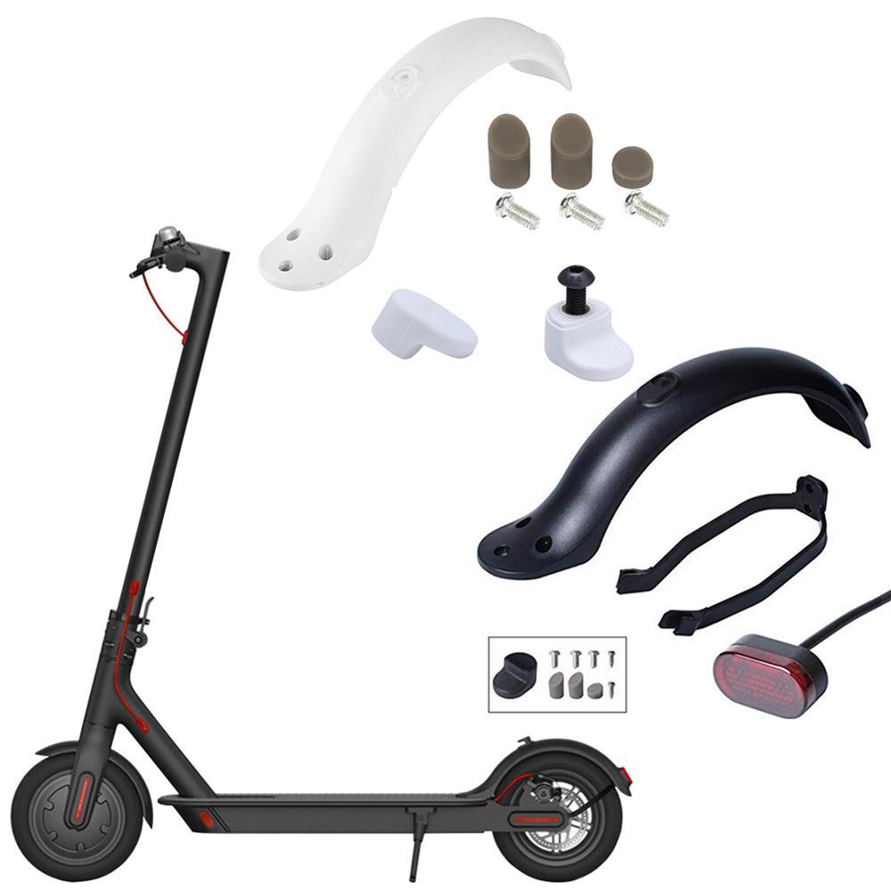 Крылья для самоката, задняя защита от грязи, пластиковые детали, винты, резиновая пробка для запчастей xiaomi Mijia m365 Pro