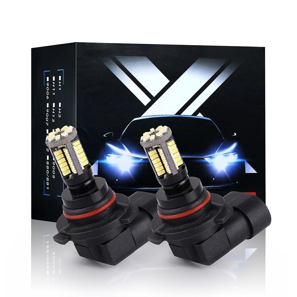 Image 3 - Q8 Series 2 Pcs Led Fog Light Bulb 9005 9006 880 881 5202 H16EU H7 H11 H16JP Super Bright White 6500K  Auto Driving Running LampCar Fog Lamp   -