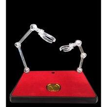 Soul of GOLD EX ขาตั้งโลหะเหรียญสำหรับ STAGE Action ประเภทการสนับสนุนชุดสำหรับ SHF หุ่นยนต์ SOG Saint seiya รูปของเล่น