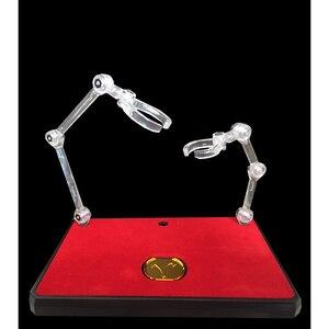 Image 1 - Soul of GOLD EX ขาตั้งโลหะเหรียญสำหรับ STAGE Action ประเภทการสนับสนุนชุดสำหรับ SHF หุ่นยนต์ SOG Saint seiya รูปของเล่น