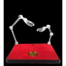 Soul of Gold EX Support de Support, avec pièce en métal, pour laction de scène, Type de Support pour Robot SHF SOG Saint Seiya, jouet en figurine