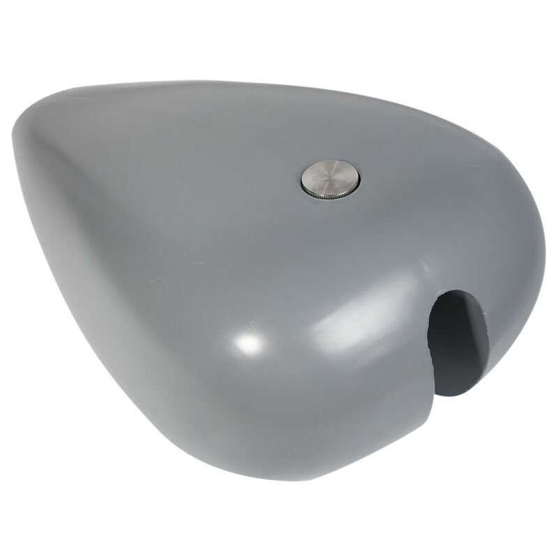 "Image 5 - Motorcycle 4.7 Gal. 5"" Stretch Gas Fuel Tank For Harley Custom Chopper Bobber Painted Unpainted-in Fuel Tank from Automobiles & Motorcycles"