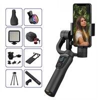 EKEN S5B stabilizzatore cardanico palmare a 3 assi cellulare registrazione Video Smartphone gimbal per telefono Action Camera VS H4