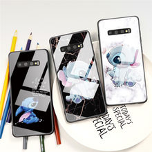 Cartoon Couple Funny Case For Samsung Galaxy A50 A70 A40 Note 8 9 10 S20 S10 S9 S8 A7 A9 A6 A8 J4 Plus 2018 Tempered Glass Case(China)