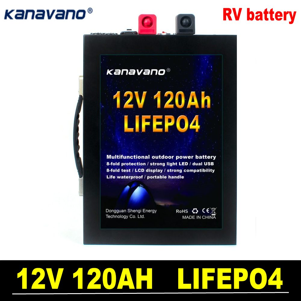 <font><b>12V</b></font> lifepo4 <font><b>battery</b></font> 120ah <font><b>100ah</b></font> 40ah <font><b>lithium</b></font> Rechargeable <font><b>Battery</b></font> with BMS outdoor for Boat engine special car and RV <font><b>battery</b></font> image