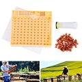 Набор инструментов для пчеловодства  система Королевского выращивания  коробка для выращивания  110 шт.  набор пластиковых чашек для пчелово...