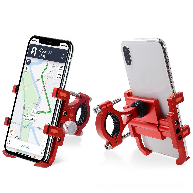 Алюминиевый Универсальный держатель для телефона для велосипеда MTB горный велосипед мотоцикл руль зажим подставка для 5,4