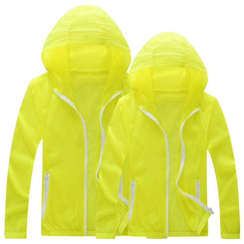 2017 Summer New Style Coat Men's Wind Shield Trench Coat Outdoor Couples Quick Drying Clothes Fishing Suits Large Size Coat Whol
