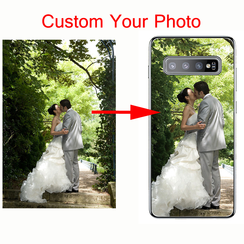 Phone Cover Customized Design Picture Logo Name Photo Custom Personalized Case For Samsung S6 S7 edge S8 S9 S10 plus lite Note 8